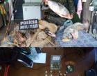 Policia Ambiental apreende redes e armas na região do Araguaia
