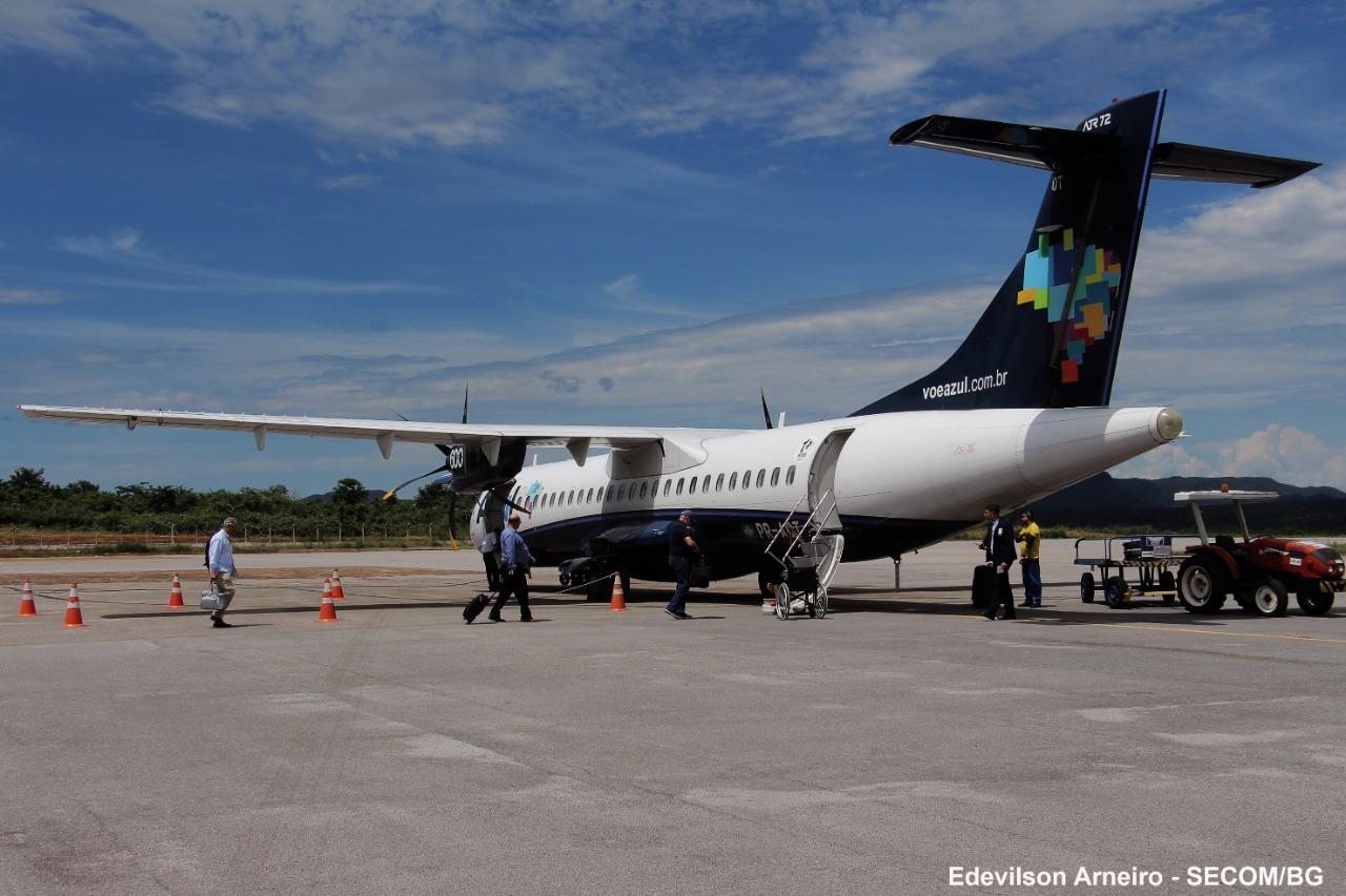 Azul apresenta novo plano de operação para Barra do Garças, Cuiabá e Goiânia