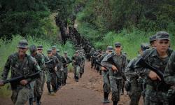 Exército realiza marcha de 8 km para aprimorar tropa 'Sentinela do Araguaia'