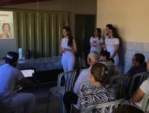 Odontologia do Univar leva palestra sobre higiene bucal no Cras Nova Barra