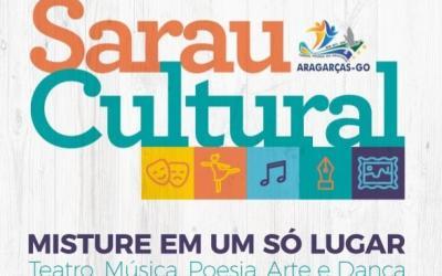 Aragarças terá sarau sexta e sábado para quem gosta de cultura