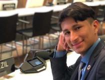 Jovem do Araguaia participa da Conferência de Mudanças Climáticas da ONU na Alemanha