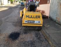 Ruas são recuperadas nos bairros Solar Ville e Wilmar Peres em Barra do Garças