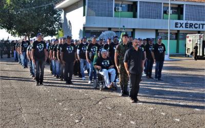 Exército realiza 5º encontro de ex-combatentes do Vale do Araguaia