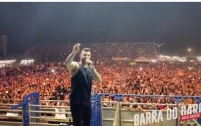 Expoleste começa com recorde de público, mas com reclamações de preços abusivos e Gusttavo Lima ignora imprensa de Barra do Garças