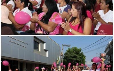 Prefeitura e Câmara promovem atos de prevenção ao câncer de mama em Barra do Garças