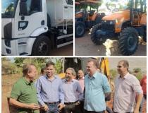Prefeitura de Barra do Garças adquire maquinários para agricultura familiar
