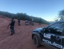 Força Tática realiza operação na zona rural de Barra do Garças