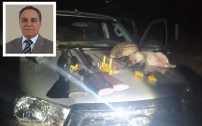 Péssimo exemplo: prefeito e mais 3 são presos com armas e animais abatidos