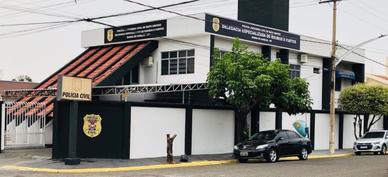 Derf de Barra do Garças passa por reforma e padronização visual