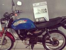 Força Tática prende acusado de receptação e recupera moto em Barra do Garças
