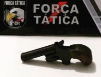Homem armado é preso em Barra do Garças pela Força Tática