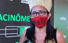 Indígena é a segunda mulher vacinada contra Covid no Brasil