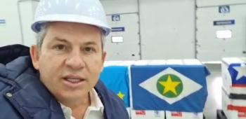 Mauro Mendes confirma que a vacinação em Mato Grosso contra Covid começa hoje às 16 horas VEJA VÍDEO