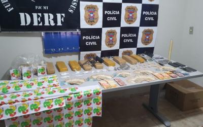 Polícia Civil prende gerente de facção com arma, drogas e dinheiro