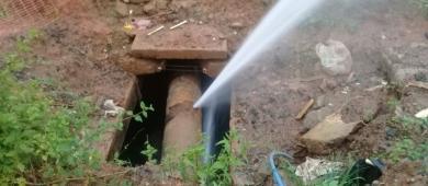 Nesta terça (21/9) vai faltar água no Nova Barra e São José devido ao rompimento de uma rede