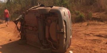Quatro pessoas ficam feridas após colisão de veículos na BR-158