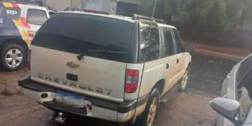 Dois suspeitos de Blazer branca são capturados em distrito de Barra do Garças após furto em Nova Xavantina