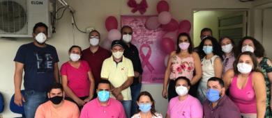 Escritório Regional de Saúde de Barra do Garças reforça campanha Outubro Rosa e promove dia D, dia 21/10