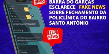 Prefeitura de Barra do Garças diz que são fake news áudios de que policlínica será fechada em Barra do Garças; LEIA NOTA