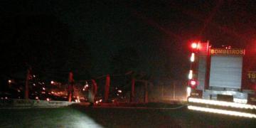 Incêndio no Clube do Laço em Barra do Garças foi apagado por bombeiros