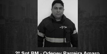 Bombeiros de Barra do Garças prestam homenagem a colega vítima de Covid; VEJA VÍDEO