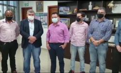 Presidente da AL-MT, deputado Eduardo Botelho, recebe comitiva de Barra do Garças VEJA VÍDEO