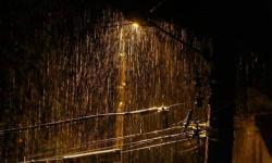 Forte chuva com rajadas de ventos em Bom Jardim essa madrugada VEJA VÍDEOS