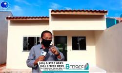 Bmarc Construções tem casas no Novo Horizonte e Nova Barra com prestações a partir de 450,00 VEJA VÍDEO