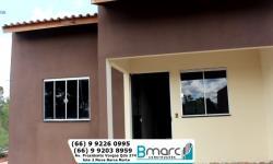 Bmarc Construções concluiu mais 4 casas em Barra do Garças com prestações a partir de 450,00 VEJA VÍDEO