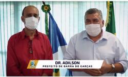 Prefeito Adilson convoca população de Barra do Garças para uma 'guerra' contra a Covid VEJA VÍDEO