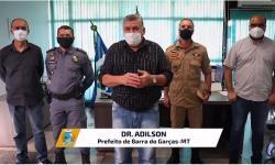 Prefeito convoca policiais na 'guerra' contra aglomerações em Barra do Garças para evitar lockdwon VEJA VÍDEO