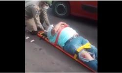 Funcionário público fratura costelas após atropelar cachorrinha VEJA VÍDEO