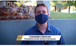 CDL diz que o momento é de sacrifício para evitar lockdown em Barra do Garças VEJA VÍDEO