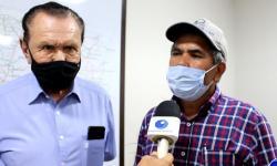 Vice-governador Otaviano Pivetta recebe comitiva de Pontal do Araguaia e deputado Carlos Bezerra VEJA VÍDEO