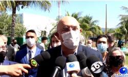 Ministro da Educação entrega ônibus para Aragarças e fala do curso de Medicina em Barra do Garças VEJA VÍDEO