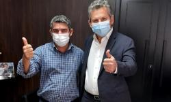 Prefeito de Araguainha recebe cestas contra pandemia e fala sobre a obra da MT 100 VEJA VÍDEO