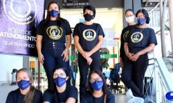 Justiça Comunitária distribui cestas para famílias afetadas em Barra do Garças com a pandemia VEJA VÍDEO