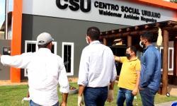 VEJA VÍDEO: Deputado Juarez Costa visita centro de idosos e de recuperação de Pontal do Araguaia