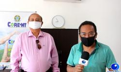 VEJA VÍDEO: Após abrir representação, presidente do CORE-MT visita Barra do Garças