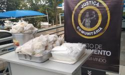 VEJA VÍDEO: Justiça Comunitária leva sopas e agasalhos a moradores de Barra do Garças