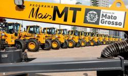 VEJA VÍDEO: Prefeito Adelcino Lopo explica como serão utilizadas as máquinas repassadas pelo governo de MT