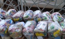 VEJA VÍDEO: Justiça Comunitária entrega mais 75 cestas em Barra do Garças