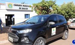 VEJA VIDEO: Câmara de município do Araguaia, que nunca teve veículo, recebe carro da Receita Federal