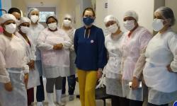 VEJA VÍDEO: Profissionais da Saúde que lutam contra Covid em Barra do Garças são homenageados pelo Grupo Amigas do Bem