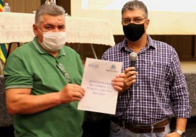 VEJA VÍDEO: Prefeitura discute orçamento em Barra do Garças e pede sugestões de obras aos moradores