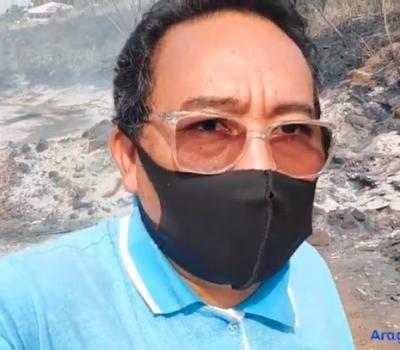 VEJA VÍDEO: Incêndio causa destruição e nuvem de fumaça no centro de Barra do Garças