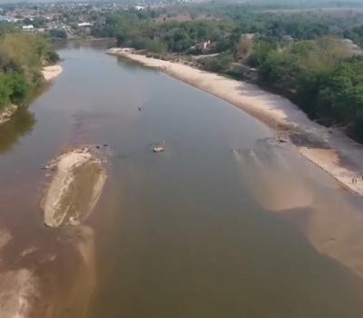 VEJA VÍDEO: Rio Garças pede socorro devido assoreamento