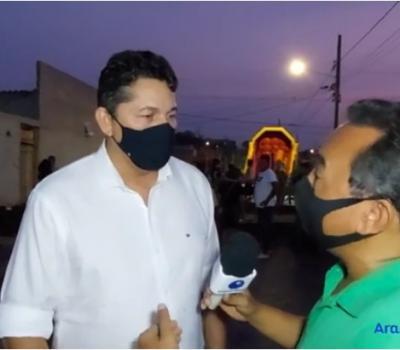 VEJA VÍDEO: Vereador Jaime Rodrigues participa de festa das crianças e parabeniza projeto Cozinha Solidária