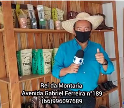 VEJA VÍDEO: As novidades da loja Rei da Montaria em Barra do Garças